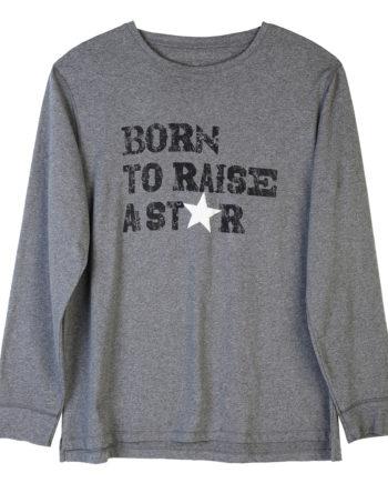 T-Shirt Born To Raise A Star Mens