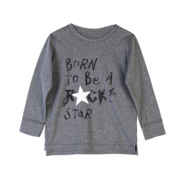 T-Shirt Born To Be A Rock Star Kids