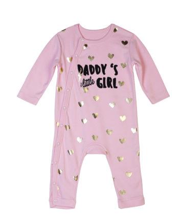 T-Shirt Daddys Little Girl Bebe