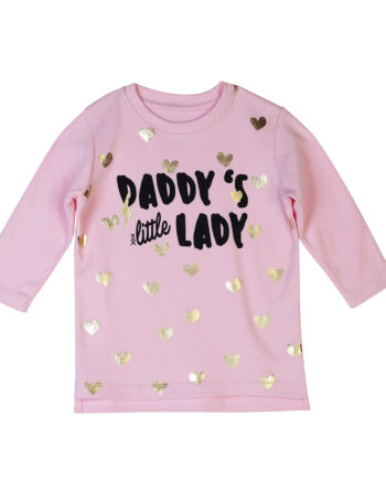 T-Shirt Dadddys Little Lady Kids