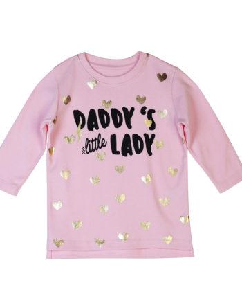 T-Shirt Dadddys Little Lady Kids