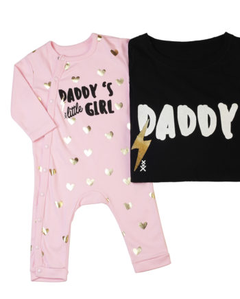 T-Shirt Combo Daddy - Daddys Little Girl