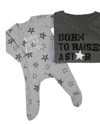 T-Shirt Combo Born To Raise A Star - Born To Be A Star