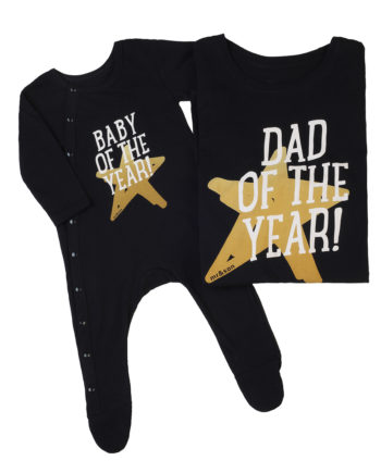 T-Shirt Combo Dad Of The Year - Baby Of The Year