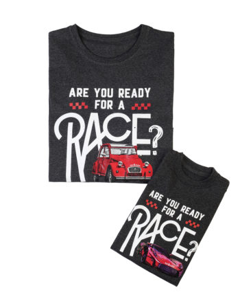 T-Shirt Combo Are You Ready For A Race